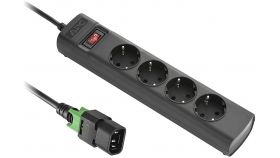 APC UPS Power Strip, Locking IEC C14 TO 4 Outlet Schuко (CEE 7/3), 230V Germany
