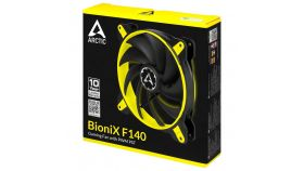 Вентилатор ARCTIC BloniX F140 Yellow 140mm