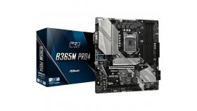 Дънна платка ASROCK B365M-PRO4, Socket 1151 (300 Series), 4 x DDR4