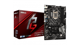 Дънна платка ASROCK Z390 PHANTOM GAMING 4S, Socket 1151(300 series) , ATX, RGB