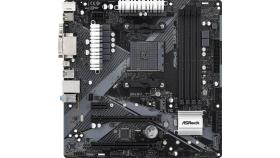 Дънна платка ASRock B450M Pro4-F R2.0, Micro ATX, HDMI, DVI-D, D-Sub, USB Type-C