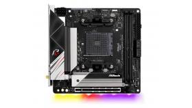 Дънна платка ASRock B550 Phantom Gaming-ITX/ax, AM4, Polychrome RGB