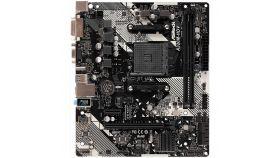 ASROCK Main Board Desktop AM4 A320, 2xDDR4, 1xPCI-E x1, 1xPCI-E x16, HDMI, DVI-D, D-Sub, 4 SATA3, 1 Ultra M. , 6 USB 3.0 (2 Front, 4 Rear)