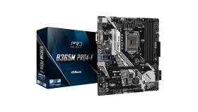 ASROCK Main Board Desktop B365 (S1151, 4xDDR4,2xPCIe x16,1xPCI Ex1, 6 SATA3 ,1x Ultra M.2, M.2 socket, GLAN,VGA,DVI,HDMI,USB 3.1) mATX retail