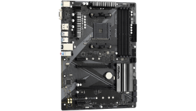 ASROCK B450 PRO4 AM4 B450, 4xDDR4, HDMI/DP/D-Sub, 2 PCIe 3.0 x16, 4 PCIe 2.0 x1, 2xM.2, 6 SATA3, 1x USB-C, 2xUSB 2.0, 5x USB 3.2, 1xCOM Port Header, ATX