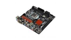 ASROCK Main Board Desktop H110 (S1151, 2xDDR4,1xPCI E 3.0 x16,2xPCI E 2.0x1, SATA III ,GLAN,DVD-D,HDMI,VGA, USB3.0)micro ATX retail
