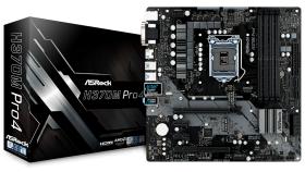 ASROCK Main Board Desktop H370 (S1151, 4xDDR4,2xPCIe x16,2xPCI Ex1, 6 SATA3 ,1x Ultra M.2, GLAN,VGA,DVI,HDMI,USB 3.1 ) mATX retail