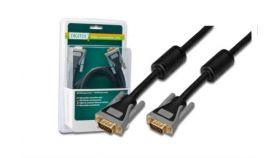 ASSMANN DB-310105-030-D :: VGA кабел HD15 M/M, 3.0 м