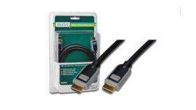 ASSMANN DB-330110-030-D :: HDMI кабел, type A/M към type A/M, 3.0 м