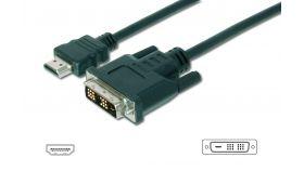АSSMANN DK-330300-030-S :: DVI-D(18+1) - HDMI видео кабел, M/M, 3.0 м