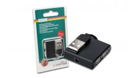 ASSMANN DA-70217 :: USB 2.0 хъб, 4 порта