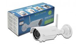 АSSMANN DN-16039 :: 2Mpix IP камера за външен монтаж, 2.8 - 12 мм вариообектив, Wi-Fi, Day-Night, IP66, IR прожектор, 2GB памет, PoE