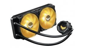 Охладител за процесор Asus TUF Gaming LC 240 RGB, Aura Sync