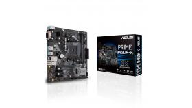 Дънна платка ASUS Prime B450M-K socket AM4, 2xDDR4
