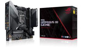 Дънна платка ASUS ROG MAXIMUS XI GENE, Socket 1151 (300 Series),Intel Optane, AURA SYNC,Wi-FI AC
