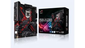 Дънна платка ASUS ROG STRIX B360-H GAMING, Socket 1151 (300 Series), Aura Sync, 4 x DDR4