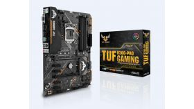 Дънна платка ASUS TUF B360-PRO GAMING, Socket 1151 (300 Series), Aura Sync, Intel Optane, 4 x DDR4