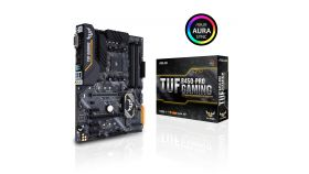 Дънна платка ASUS TUF B450-PLUS GAMING socket AM4, 4xDDR4, Aura Sync