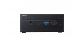"""Настолен компютър ASUS Mini PC PN40-BB009MC Celeron N4000 (fanless)/ 2x SO-DIMM DDR4/ 1*M.2 Slot+ 1* 2.5"""" Slot/Wi-Fi AC/COM Port"""