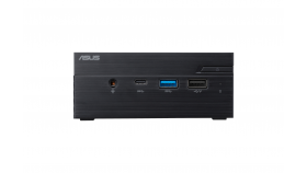 "Настолен компютър ASUS Mini PC PN40-BB013M Celeron N4000 (fanless) 2x SO-DIMM DDR4/ 1*M.2 Slot+ 1* 2.5"" Slot t /Wi-Fi AC / VGA"