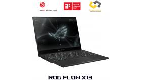 "Лаптоп ASUS ROG Flow X13 GV301QH-K6042R, Ryzen 7-5900HS, 13.4"" WUXGA IPS, 120 Hz, 16GB DDR4 4266 MHz, 512MB NVME, GTX 1650, Win 10 Pro"