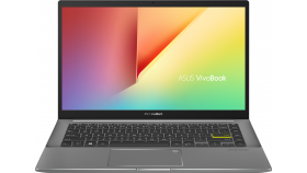 """Лаптоп ASUS VivoBook S14 M433UA-WB723T - Ryzen 7 5700U (Up to 4.3Ghz, 12MB), 14"""" FHD, 16GB DDR4, 512GB SSD, Win 10 Home, Indie Black"""
