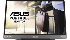 """Монитор ASUS ZenScreen MB14AC 14"""" FHD (1920x1080), USB Type-C, IPS, Преносим"""