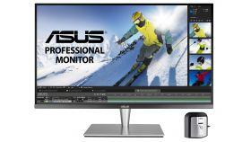 Монитор ASUS PA32UC-K 32'' Professional Monitor, 4K (3840 x 2160), IPS, Quantum Dot, HDR1000, 384 zones local dimming, 99.5% Adobe RGB/95% DCI-P3, E< 2, X-Rite i1 Display Pro