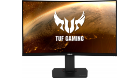 "Монитор ASUS TUF Gaming VG32VQR, 31.5"" WQHD (2560x1440), Curved HDR, 165Hz, Extreme Low Motion Blur, 1ms, Freesync Premium, DisplayHDR 400, WCG"