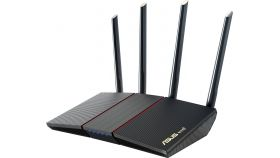Безжичен рутер Asus RT-AX55 AX1800 Dual Band WiFi 6 (802.11ax),MU-MIMO, OFDMA , AI Mesh