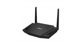 Безжичен рутер Asus RT-AX56U AX1800 Dual Band WiFi 6 (802.11ax), MU-MIMO, OFDMA, AiProtection Pro, безжичен рутер, Ai Mesh