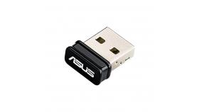 Wireless USB Nano Адаптер ASUS USB-N10 Nano, 802.11n 150 Mbps, USB 2.0