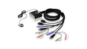 Превключвател KVM ATEN CS692, дву портов USB HDMI превключвател