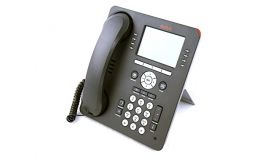 AVAYA 1608-I IP-телефон, черен