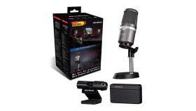 Комплект AVerMedia Live Streamer 311 - кепчър карта, уеб камера и микрофон
