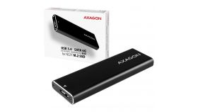 AXAGON EEM2-U3 USB3.0 - M.2 SSD SATA, up to 80mm SSD, ALU body