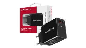 AXAGON ACU-QC19 wall charger 1x QC3.0/AFC/FCP/SMART, 19W, black