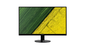 "Monitor Acer SA240Yabi 60cm (23.8"") FHD (1920x1080) 60Hz IPS ZeroFrame, FreeSync, 4ms resp. time, Contrast:100M:1, 250nits, 178° Wide viewing angle, VGA, HDMI, External adapter, Black, 2 years warranty"