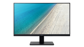 Monitor Acer V227Qbi 55cm (21.5''), 16:9 (1920x1080) 75Hz, ZeroFrame IPS LED, Response time: 4ms, Contrast: 100M:1 ACM Brightness: 250nits, VGA, HDMI, VESA, Black Acer EcoDisplay, 3 years warranty
