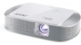 PJ Acer  K137i LED, Hybrid Laser-LED, DLP® 3D Ready, Native WXGA (1280 x 800), Contrast: 10 000:1, Brightness: 700 ANSI lumens (stand); 560 ANSI lumens (ECO), Input: Analog RGB, HDMI®/MHL™, USB (type A), microSD, PC Audio, Output: PC audio; Wireless