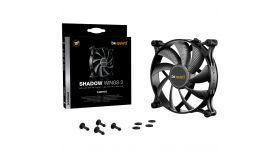 be quiet! Shadow Wings 2 140mm 3 Pin, Fan speed: 900, Noise level: 14.7, black, 3 Years Warranty