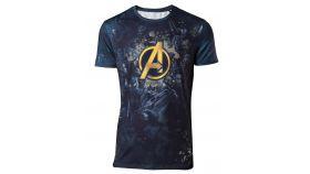 Тениска Avengers Infinity War - Team Sublimation Print Men's T-shirt - XL
