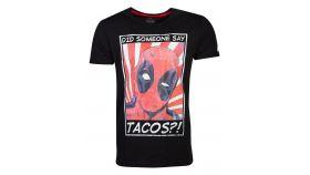 Тениска Deadpool - Tacos? Men's T-shirt - M