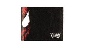 Портфейл Bioworld Difuzed Marvel - Venom, Сгъваем, Черен
