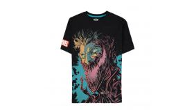 Тениска Bioworld Difuzed Marvel: Venom, Laughter Black, Мъжка, XL