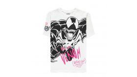 Тениска Bioworld Difuzed Marvel: Venom, Laughter White, Мъжка, L