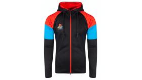 Суитчър Playstation - Color Zipper Men's Hoodie - M
