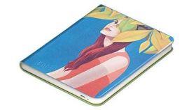 Калъф кожен BOOKEEN Classic, за eBook четец DIVA, 6 inch, магнит, Lily Shygirl