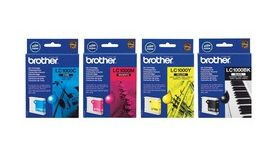 BROTHER LC-1000 ink cartridge yellow standard capacity 400 pages 1-pack
