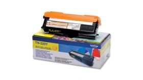 Yellow Toner Cartridge BROTHER (Approx. 1,500 pages declared in accordance with ISO/IEC19798)
